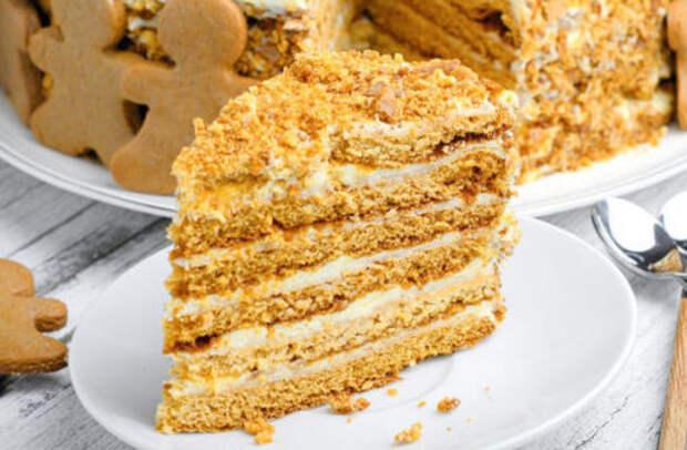 Этот десерт просто тает во рту. Медовик с заварным кремом