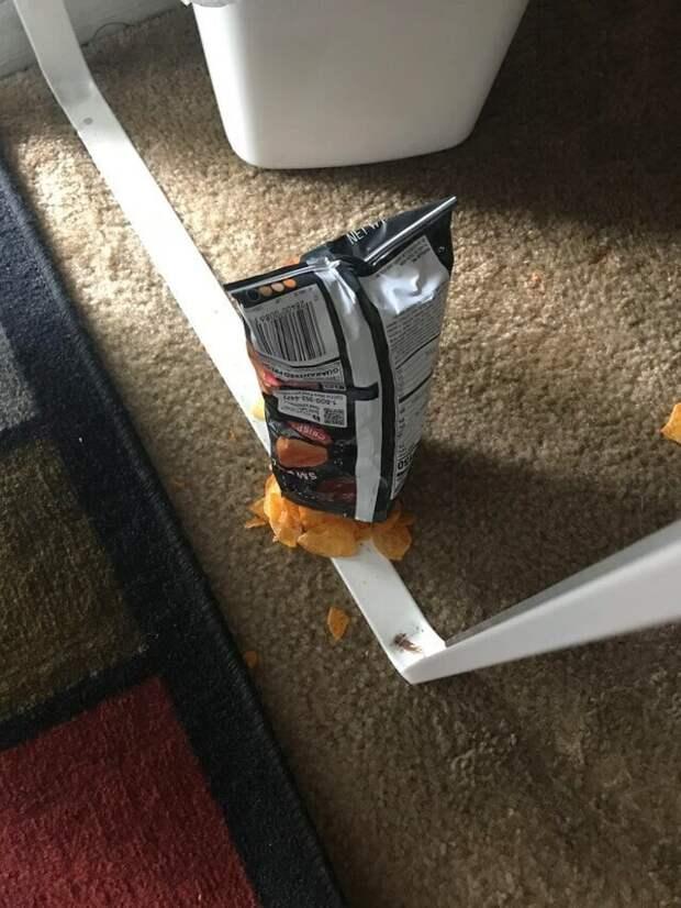 Технически чипсы почти не пострадали, но...
