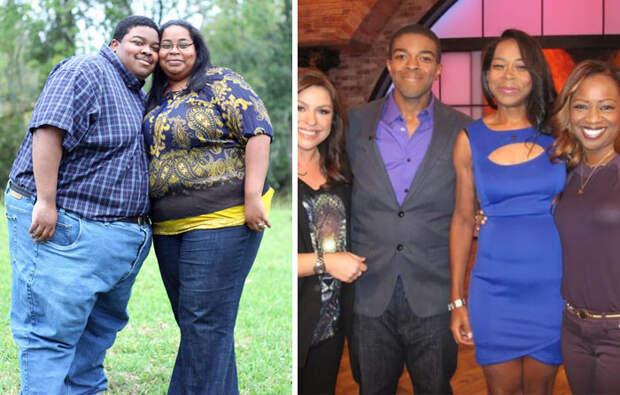 Эта пара за два года избавилась от 227 кило на двоих диета, лишний вес, похудение