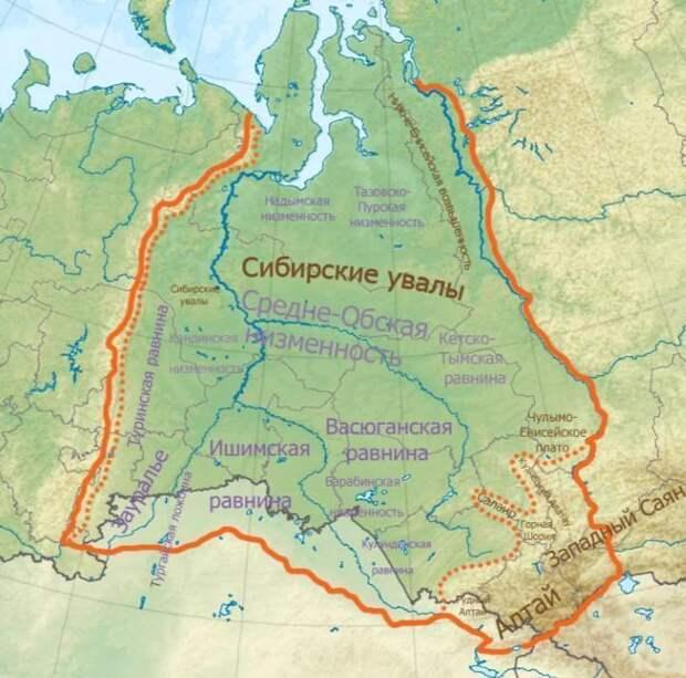 Огромный океан с горячей водой, обнаруженный под территорией Сибири