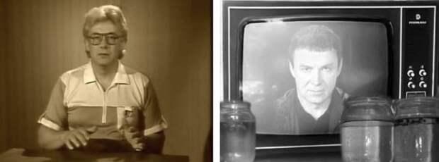 Если советское образование было таким крутым, почему эти люди стаканы с водой заряжали перед телевизором?