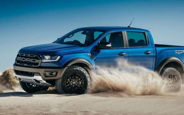 Для дорог и направлений: представлен экстремальный Ford Ranger Raptor