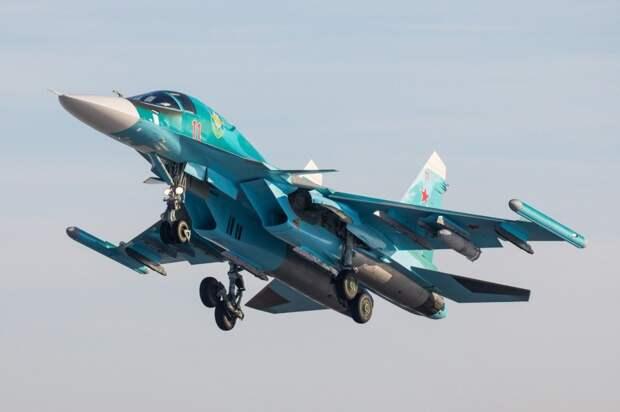 В Курганской области Су-34 уничтожили штаб условного противника