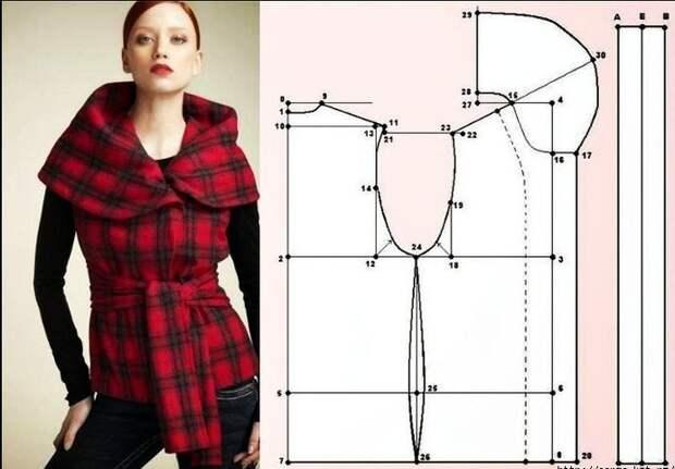 Простые идеи для шитья, или Как легко украсить себя осенью. Часть 3, фото № 11