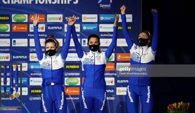 Нижегородские конькобежцы завоевали 5 медалей начемпионате мира вНидерландах