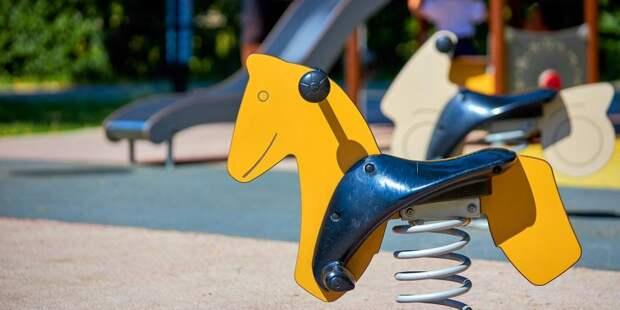 Детская площадка на улице Полины Осипенко появится до 20 августа — «Жилищник»