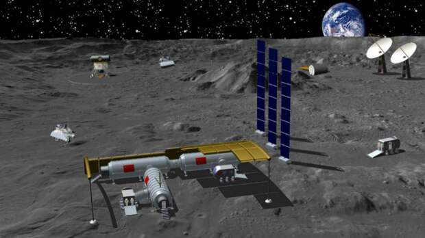 Россия и Китай вступают в лунную гонку с Америкой