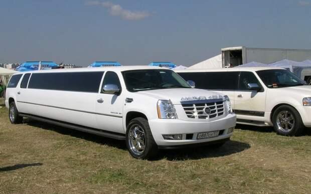 Cadillac Escalade пользуется спросом у новобрачных
