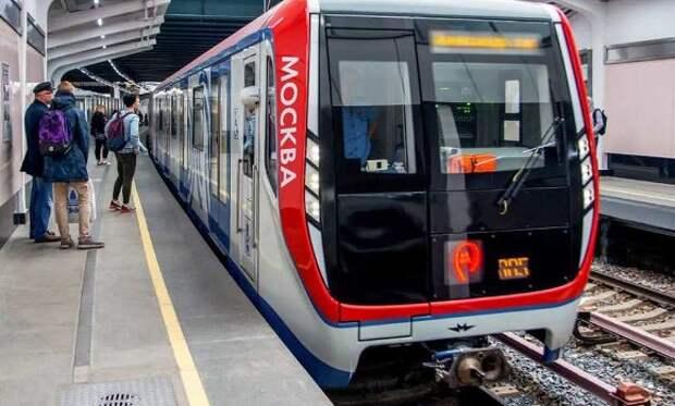 На станции «Шипиловская» метро Москвы поезд переехал пассажирку