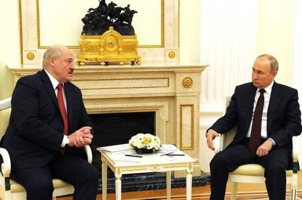 Лукашенко рассказал о прошедших в Москве переговорах с Путиным