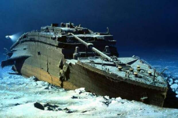 Как может выглядеть подъем Титаника из глубины океана