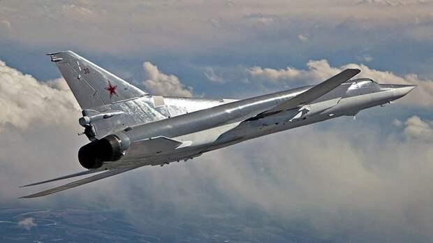 В Мурманске произошло крушение бомбардировщика ТУ-22 МЗ
