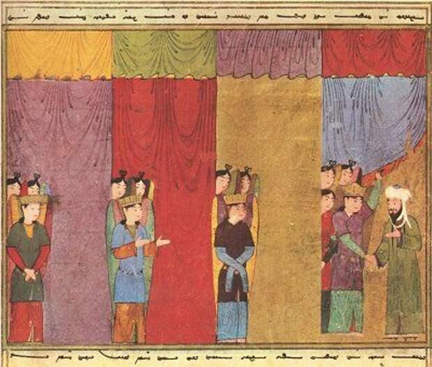 Пророк Мухаммад и архангелы