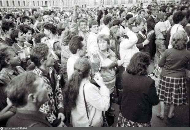 Митинг у Ленсовета (Мариинский дворец). история, факты, фото