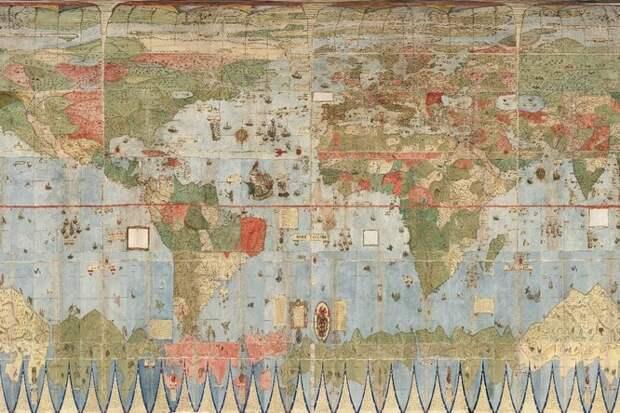 Эпоха, когда не было GPS: атлас 1587 года