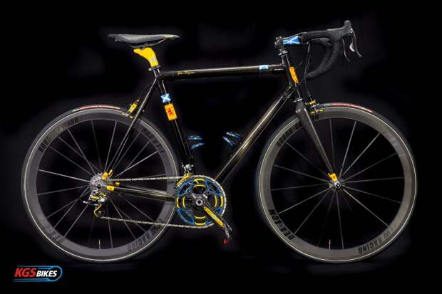 самые дорогие велосипеды цены: KGS Tier 3 Custom Bike