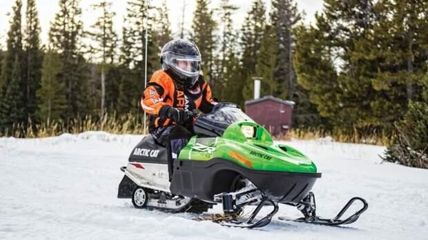 Как выбрать детский снегоход