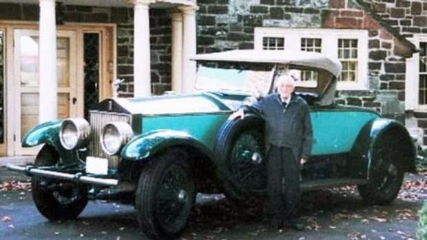 78 лет мужчина ездил на одном и том же автомобиле
