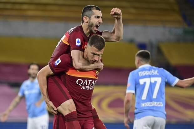 «Рома» на своем поле уверенно обыграла «Лацио»
