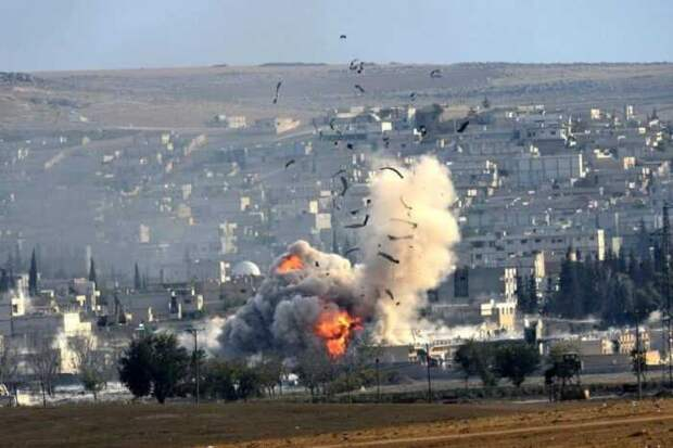 В Сирии произошли взрывы у военной базы США и на пути колонны турецких войск