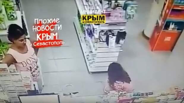 В Симферополе пьяная девушка справила нужду в зале аптеки