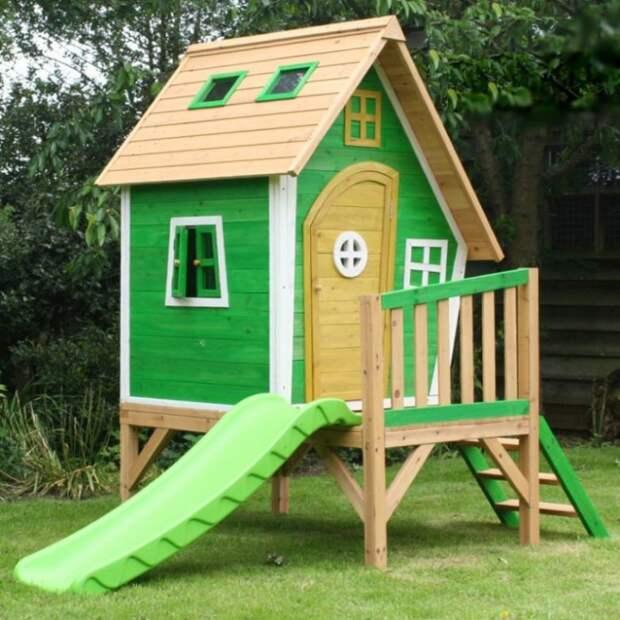 Идеи уютных детских домиков на участке