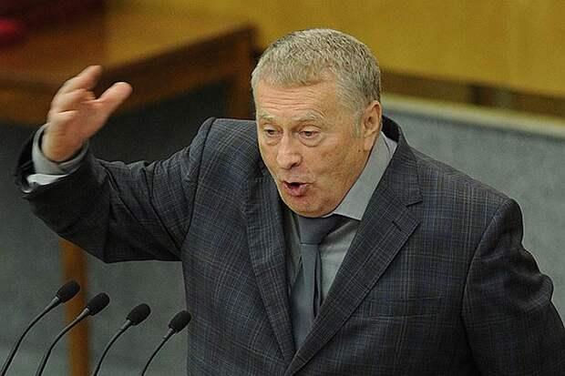 Жириновский порой говорит вещи, которые другому политику стоили бы головы или должности