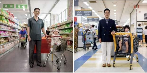 8 фото, показывающих разницу между жителями Северной и Южной Кореи
