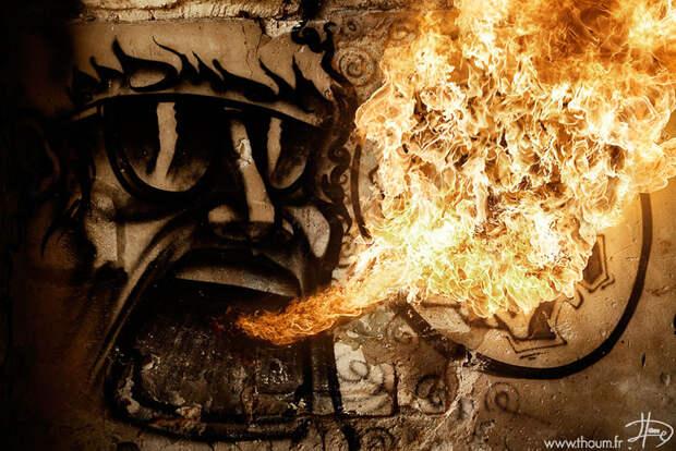 Огонь и пламя в фотографиях