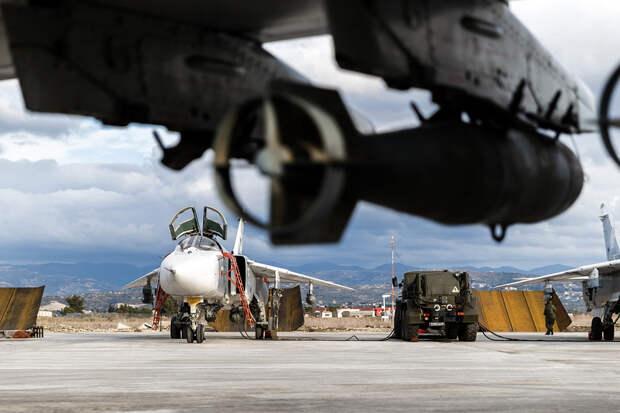 Российские ВКС снова разбомбили восстановленный лагерь турецких джихадистов в Сирии