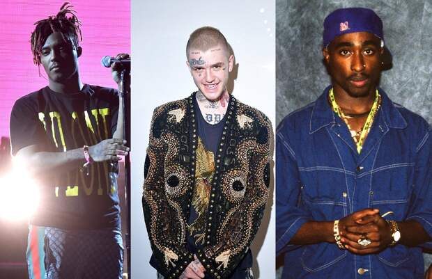 Наркотики и перестрелки: от чего так рано умерли Lil Peep, Тупак и другие рэперы