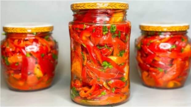Рецепт маринованного болгарского перца по-корейски на зиму