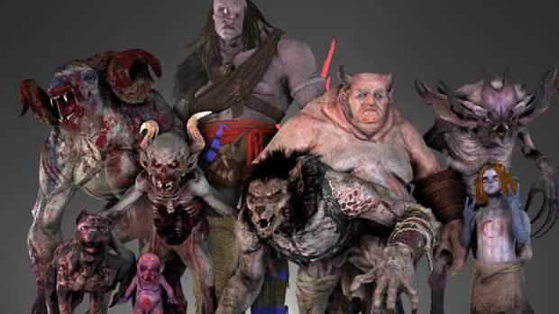 Демоны мира Ведьмака