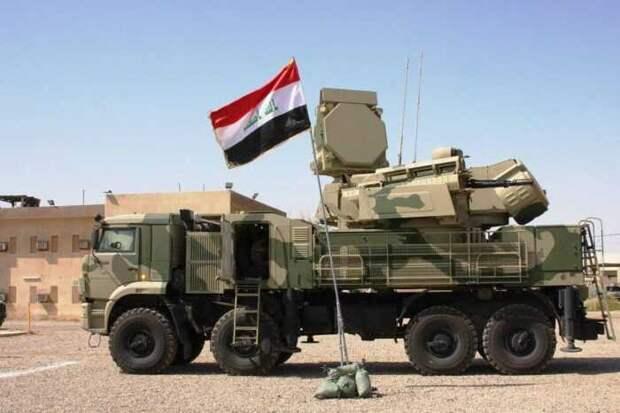 ЗРПК «Панцирь-С» защитил военную базу США в Ираке от ракетных обстрелов