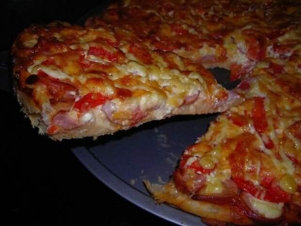 Пицца в домашних условиях!