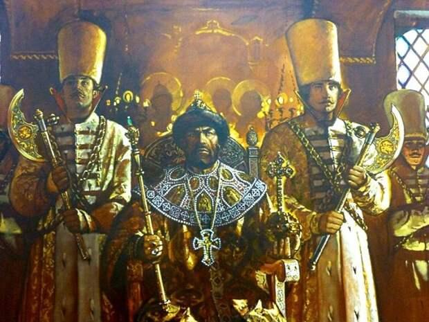 Официальных охранников Ивана Грозного называли рындами. /Фото: history-doc.ru