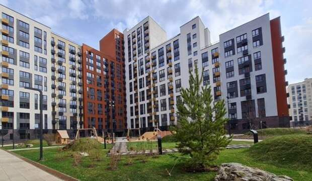 Завершено строительство дома на 609 квартир в жилом комплексе «Переделкино Ближнее» в ТиНАО