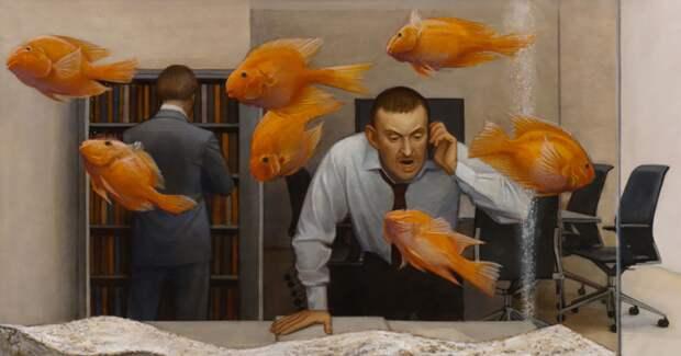 Как выглядит паника, или Неосоветское наследие в картинах Марии Сафроновой