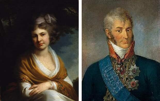 Наталья Александровна Суворова и ее муж Николай Александрович Зубов.