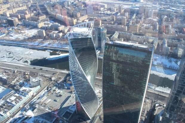 В Москва-сити проданыдвауникальных объектанедвижимости