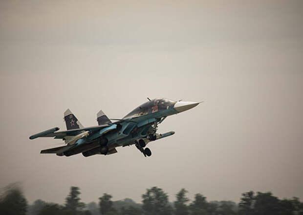 Летчики-истребители ЗВО выполнили практические пуски управляемых ракет в ходе учения в Краснодарском крае