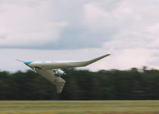 Европейцы испытали модель V-образного самолета