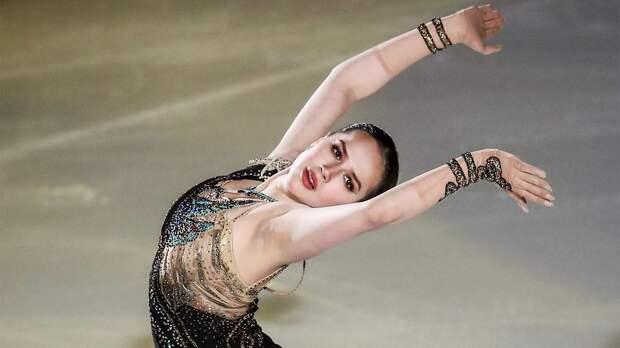 Загитова в образе Клеопатры чисто исполнила 2 тройных прыжка на шоу Тутберидзе в Санкт-Петербурге
