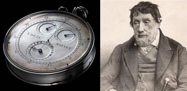 Когда появился первый хронограф?