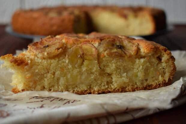 Пирог с бананами. Изумительный десерт, который порадует сладкоежек 2
