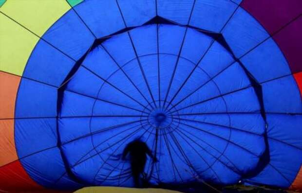 Ежегодный Международный фестиваль воздушных шаров в Мексике