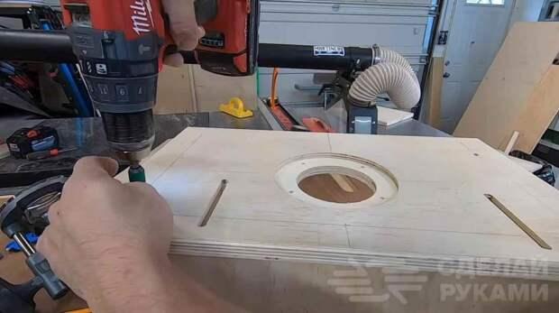 Как сделать мини-стол для ручного фрезера