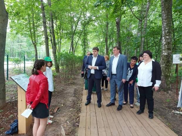 ВАрзамасе разработали экскурсионные маршруты для обновленного дендрария