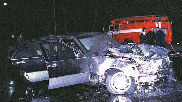 Покушение на президента Грузии Э. Шеварднадзе. 1998 год.