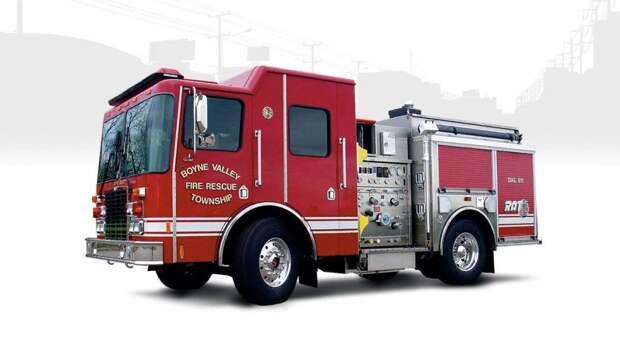 Самые дорогие пожарные машины в США